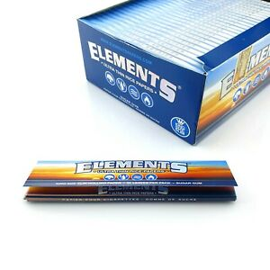 Elements Rolling Papers King Size Ultra Slim Rice Paper Skins 110mm