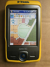Trimble Juno SC Collection dei dati GPS PDA Wi-Fi + arcpad 8/MS Office PSU