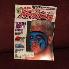 Inside Wrestling Victory Sports Series Magazine June 1990