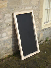 Large Chalkboard / blackboard large / chunky wooden shabby chic 600 mm x 1200mm