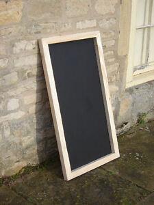 Large Chalkboard / blackboard / memo menu/ notice board 600  x 1000mm
