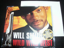 Will Smith Wild Wild West Limited Poster Pack CD Single