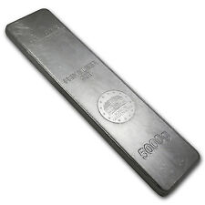 5000 gram Silver Bar - Geiger (Security Line Series) - SKU #75266