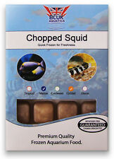 Frozen Fish Food-5 X 100g blister packs-chopped Squid