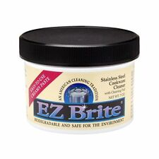 EZ Brite Stainless Steel & Chrome Cleaner / Polish - 6pk x 7oz