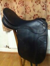 "Rehna (passier) 17.5"" Dressage Saddle Black Medium"