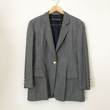 Escada Margaretha Ley Blazer Jacket Womens Sz EU 40 / US 10 Single Button Pocket