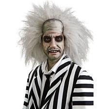 Licensed Beetlejuice Wig Mens Adult Fancy Dress Halloween Costume Accessory, STD