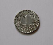 DRITTES REICH: 1 Reichsmark 1934 E, J. 354, vorzüglich+