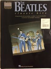 The Beatles Classic Hits E-Z Play Guitar by The Beatles Collectable Sheet Music