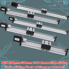 200-500mm Linear Guide Slide Table Ball Screw Motion Rail CNC42/57 Stepper Motor