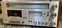 Sony HST-49 Stereo Cassette Receiver Vintage Tested Works Restoration Pre-owned