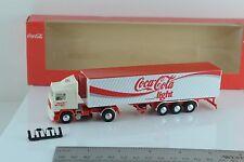 Albedo Volvo F12 Globetrotter Coca Cola Light Semi Truck 1:87 HO Scale