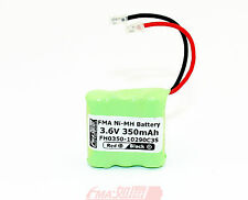 Ni-MH 3.6V 350mAh Rechargeable Battery  W/Universal Plug for Cordless phone