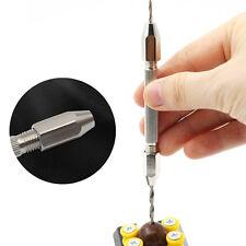 Swivel Pin Vice for Hand Drill BitChuck JewelryWatch Repair Tool 0.1-0.3mm SEAU