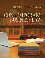 Contemporary Business Law (8th Edition) by Cheeseman, Henry R.