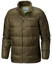 COLUMBIA Men's RAPID EXCURSION THERMAL COIL Jacket - Peatmoss - Large - NWT
