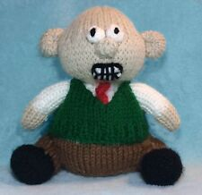 KNITTING PATTERN - Wallace inspired chocolate orange cover / 15 cms Gromit toy