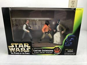 Kenner 1997 STAR WARS Power of the Force CANTINA SHOWDOWN - New in Box