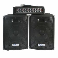 W-Audio Passive DJ & PA Equipment Packages