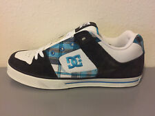 DC Shoes Pure XE Mens Shoes - 11.5 - White/Black/Blue - Brand New - Skate Shoes