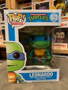 Teenage Mutant Ninja Turtles Leonardo Original Funko Pop Vinyl EXPERT PACKAGING