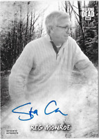 Walking Dead Road to Alexandria Auto Autograph Card Steve Coulter Reg Monroe 2/5