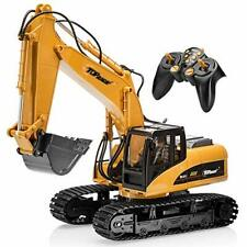 Top Race 15 Channel Full Functional Professional RC Excavator, Battery Powered