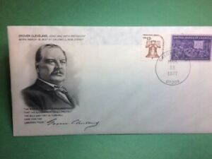 926 President of United States Commemorative First Day Cover Grover Cleveland 22