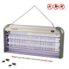 ELECTRIC INDUSTRIAL INSECT KILLER BUG FLY ZAPPER TRAP UV TUBE CHAIN 30W 20W 12W
