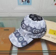 Louis Vuitton Monogram Baseball Cap Gray