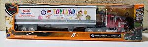 New Ray Inernational Lonestar Long Haul Truck TOYLAND 1:43 Die Cast w/ Trailer