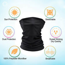 Soft Fleece Neck Gaiter Warmer Scarf Face Mask Ski Snowboard Winter Headband