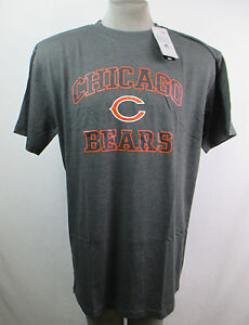 Chicago Bears Men Majestic Short Sleeve Team Color T Shirt NFL