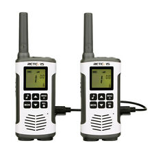 2X Retevis RT45 Funkgerät PMR446 16 Kanäle VOX TOT mit USB Ladekabel, LC-Display