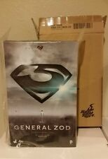 HOT TOYS MAN OF STEEL GENERAL ZOD 1:6 SCALE FIGURE MINT IN SEALED BOX SUPERMAN