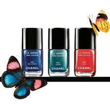 (LOT OF 3) CHANEL Le Vernis BUTTERFLY COLLECTION 647 657 667 No Box /7