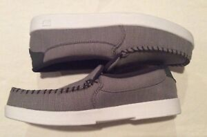 Men's DC Co. Slip On Gray Loafers, size 9.5
