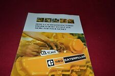 Caterpillar Remanufactured Engines Dealer's Brochure YABE