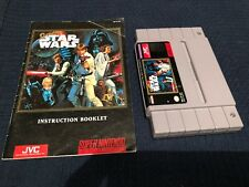 Super Star Wars (Super Nintendo , 1992) SNES Includes instruction manual