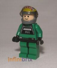 Lego A-wing Rebel Pilot from Set 6207 A-wing Fighter Star Wars Minifigure sw031a