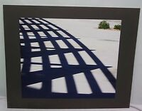 16X20 Original Print Photograph Matted Shadows Interior Color Signed 2006