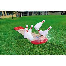 H2O GO Slide-n-Splash Bowling 18ft Water Slide NEW!