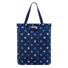Cath Kidston Navy Inky Spot Foldaway Tote Bag