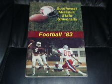 1983 SOUTHEAST MISSOURI STATE COLLEGE FOOTBALL MEDIA GUIDE EX-MINT BOX 37