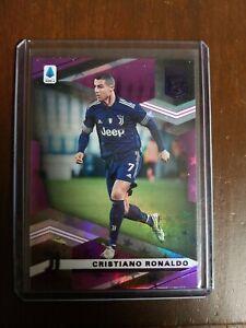 2021 Chronicles Cristiano Ronaldo Elite Purple Astral Juventus FC + topps living