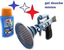 Gel Douche 125ml + Pistolet à Eau MINIONS pour le bain des enfants