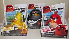 "Angry Birds Movie 6"" Talking Bomb ChuckRed Lot (3) New"
