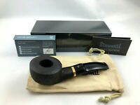 Stanwell Pfeife Deluxe 95 sandgestrahlt - pipe pipa 9mm Filter Messing Ring