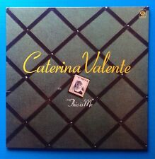 CATERINA VALENTE,This is me.UK LP PYE Fold-out cover ,nice photos.top condition.